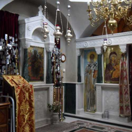 Церковь Святого Николая является подворьем Ватопедского Монастыря на Афоне и в настоящее время работает как паломническа, Греция