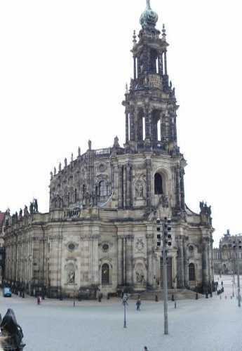 Дрезден. Цвингер парк<br/>