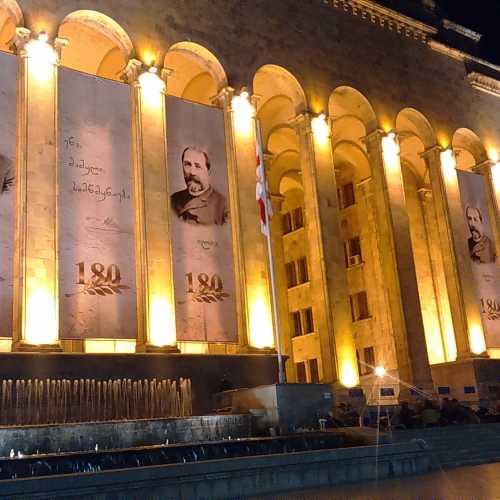 Бывшее здание парламента Грузии