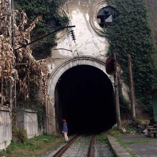 Psyrtskha railway station, Abhazia