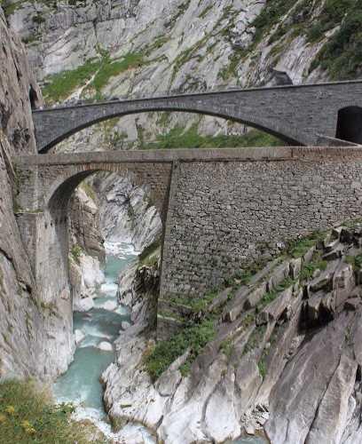 Чёртов мост, Switzerland