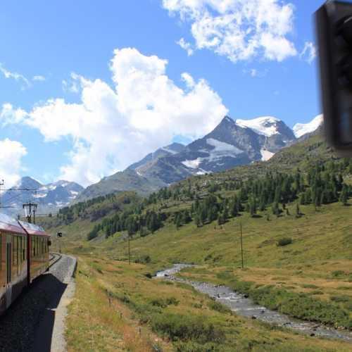 Ретийская железная дорога, Швейцария