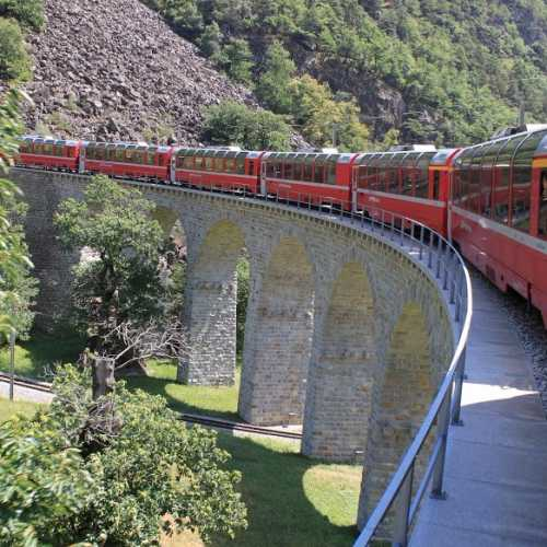 Ретийская железная дорога, Switzerland