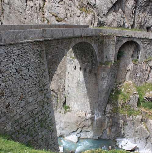 Чёртов мост, Швейцария