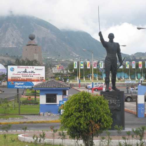 Mitad del Mundo, Эквадор