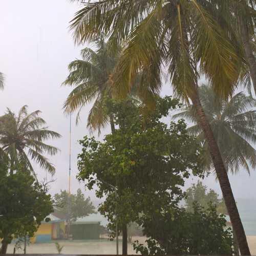 Мааафуши. Тропический ливень