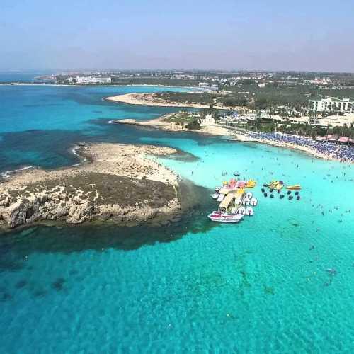 Nissi Beach, Кипр