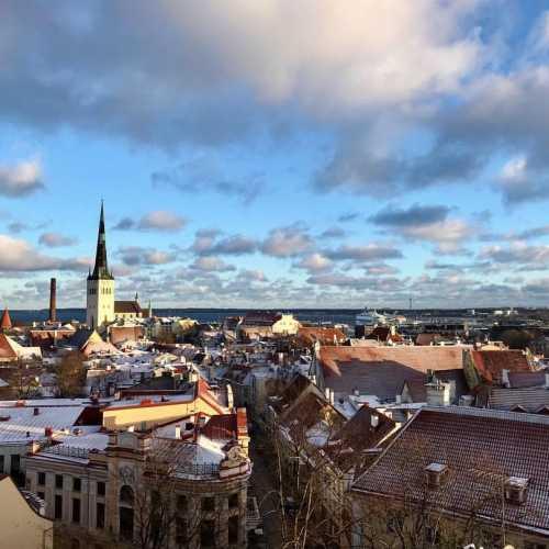 Старый город. Таллин