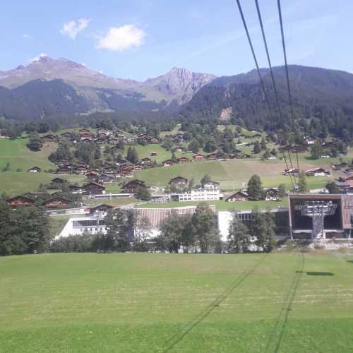 eiger express, Швейцария