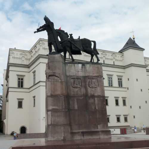 Statua Granduca Gediminas