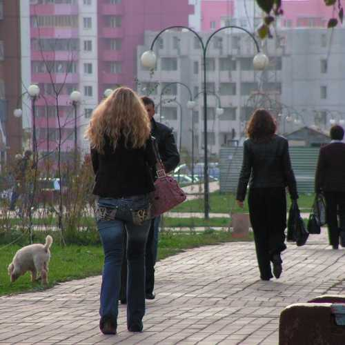 Бульвар Юности, конец рабочего дня..., 2006 год