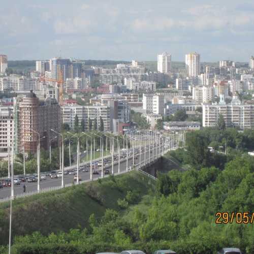 Вот он наш Белый город! Вид со смотровой площадки около памятника князю Владимиру на ул. Ватутина.