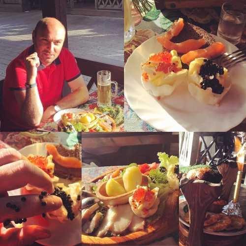 belarus minsk caviar traktir travel traveling travelphotography #беларусь #минск #икра #трактир #дранники #медовуха