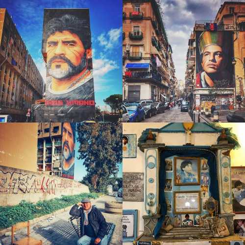 italy napoli naples maradona travel traveling travelphotography @maradona