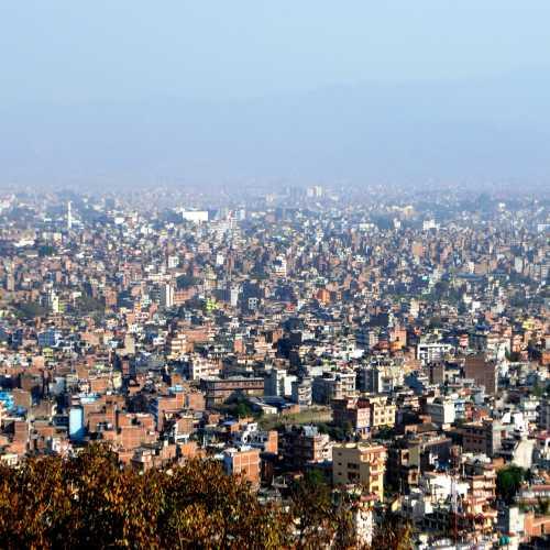 Катманду, население города составляет более 1 млн человек.