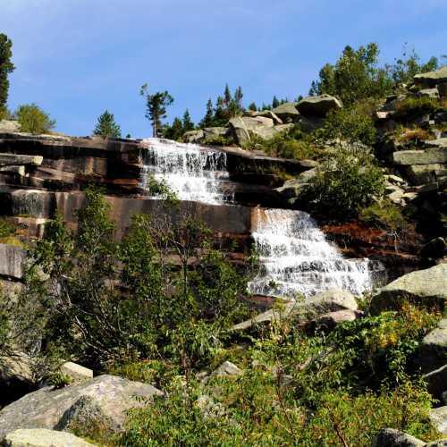 Водопад Мраморный.