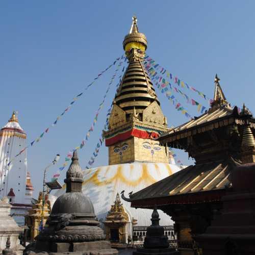 Ступа Сваямбунатх, храм Обезьян.