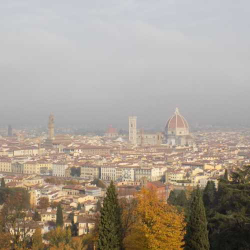 Вид на город от площади Микеланджело, Флоренция