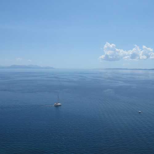 Вид на Ионическое море от Новой крепости, Керкира (Корфу)