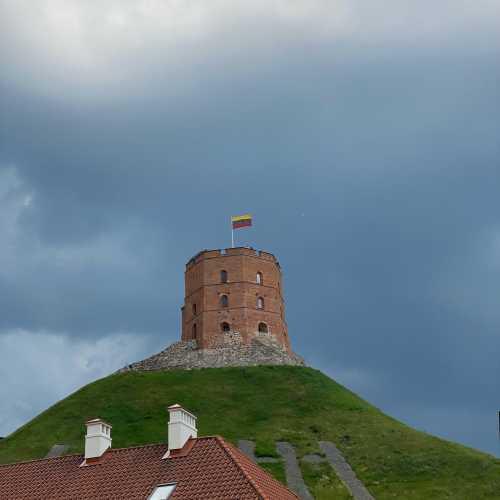 Башня Гедимина<br/> <br/> Башня имеет историческое, историко-культурное и, как пример кирпичной готики, архитектурное значение. В XX веке башня приобрела значение эмблемы и символа не только города, но и Литовского государства, её изображение замещало настоящий герб города и использовалось в разнообразных сувенирах.<br/> <br/> Смены завоевателей и режимов ознаменовывались сменой флага на башне. На башне Гедимина впервые литовский флаг был поднят 1 января 1919 года небольшой группой добровольцев литовской армии под командованием Казиса Шкирпы. Затем литовский триколор поднимался на башне 26 августа 1920 года, после того, как Вильнюс был передан литовским властям отступавшими советскими частями. После Второй мировой войны на башне развевался флаг Литовской ССР.<br/> <br/> 7 октября 1988 года, по инициативе движения Саюдис, состоялась церемония водружения довоенного флага Литвы, в тот период трактуемого как неофициальный, но уже и не запрещённый национальный флаг (18 ноября 1988 года флаг был узаконен сессией Верховного Совета как государственный флаг Литовской ССР). В память о первом водружении флага на башне установлен памятный день — день Флага Литвы. В этот день, 1 января, ежегодно проходит торжественная церемония смены флага на башне.