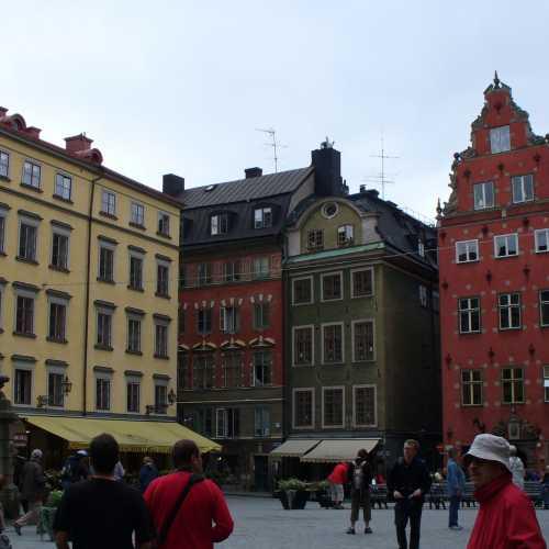 Городская площадь с водоразбором