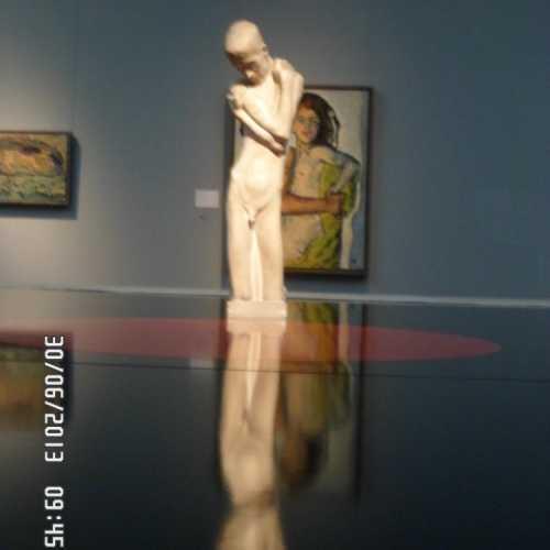 Выставка в музее Современного искусства в Вене