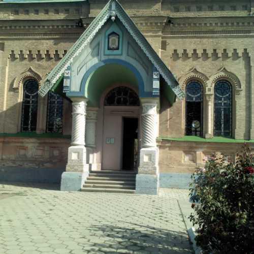 Православный храм в Самарканде