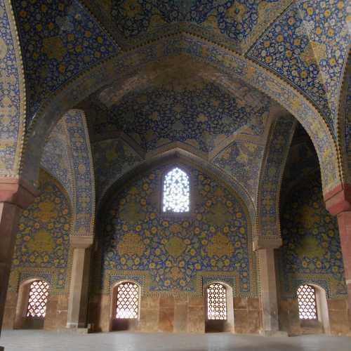 мечеть в Исфахане