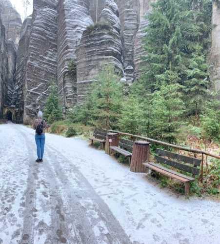 Adrspach Teplice Rocks, Czech Republic