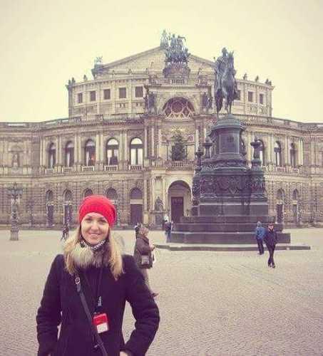 Оперный театр. Дрезден