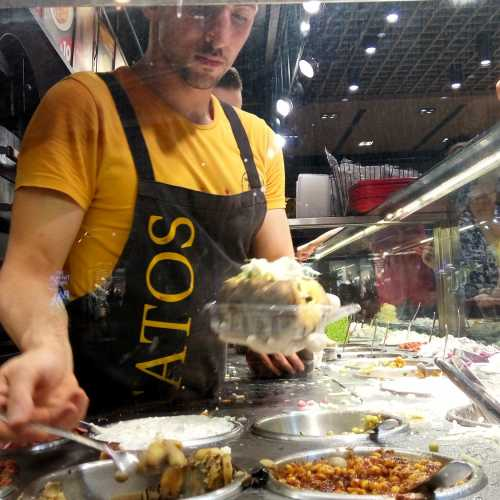 Турецкое блюдо — кумпир
