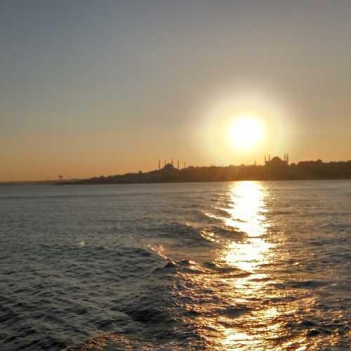 Закат над Босфором