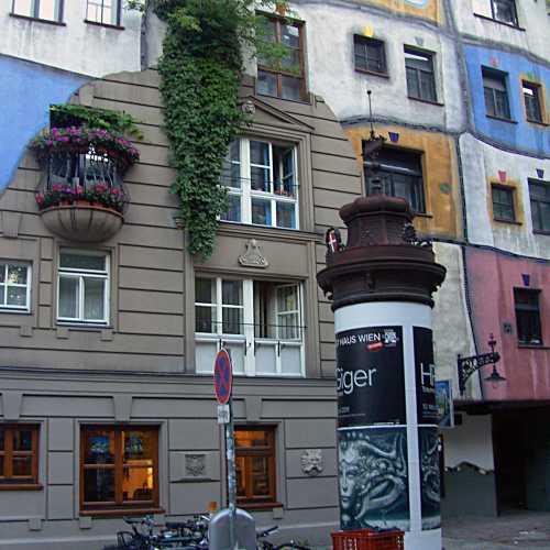 Hundertwasser House, Austria