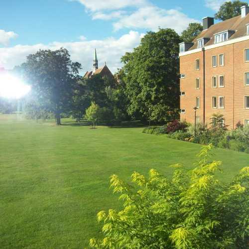 Кембридж в августе
