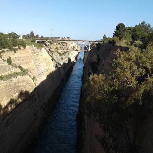 Коринфский канал, Греция