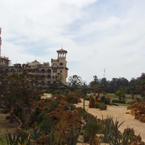 Парк Дворца Монтаза