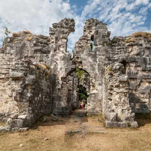 Бзыбский храм, Abhazia