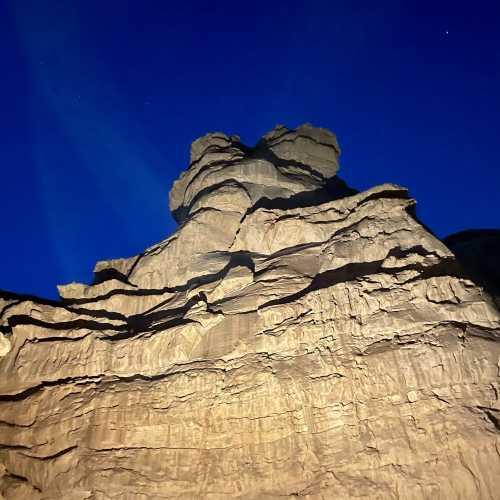Wadi Rum night sky