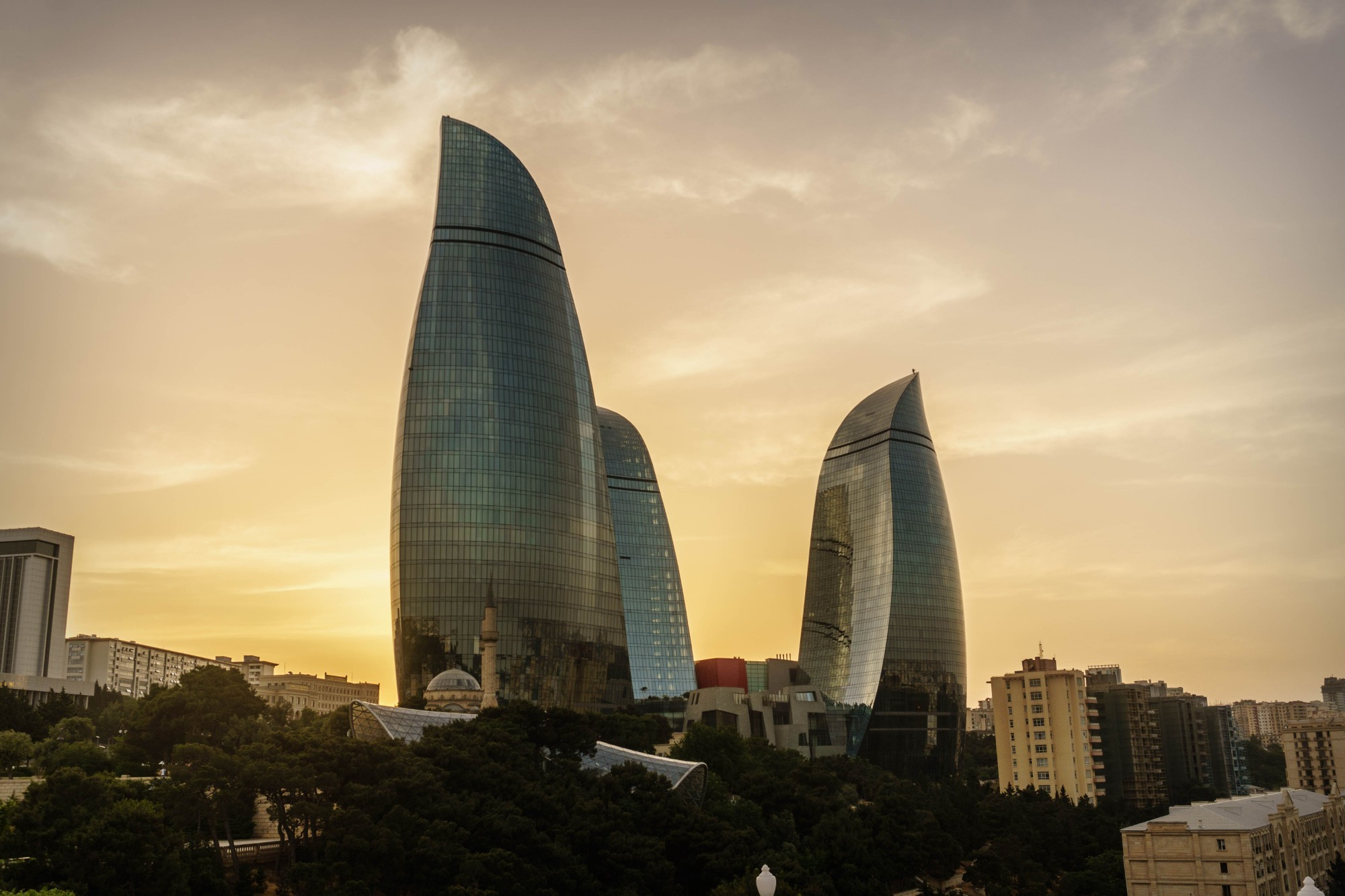 какую крыши домов фото в азербайджане меркам