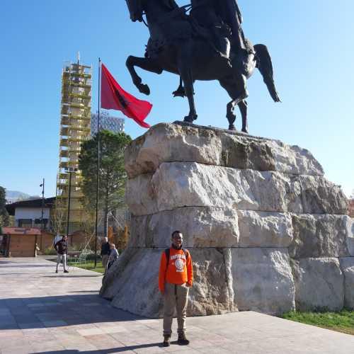 City center of tirana