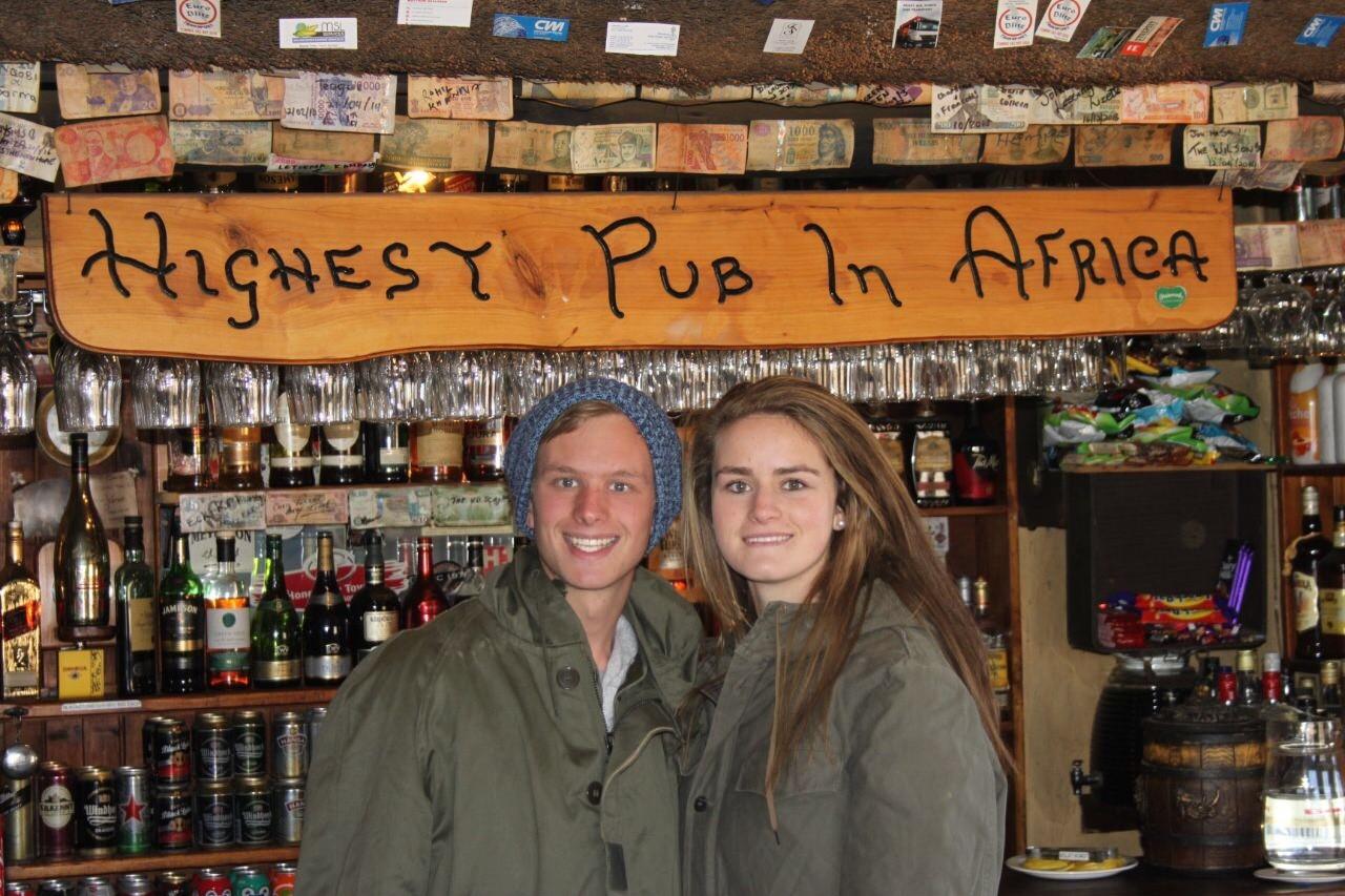 Highest pub in Africa