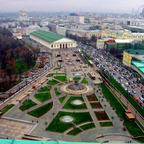 Манежная площадь Москва