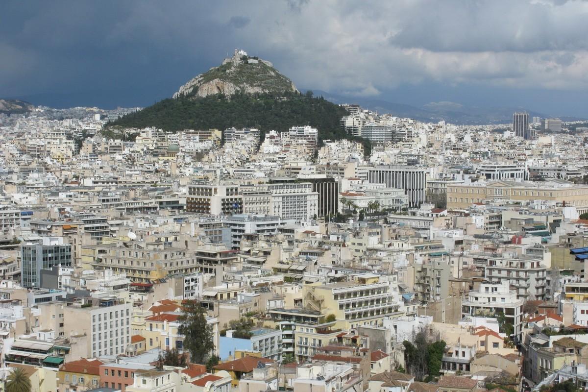 афины фото города погода давно этом убедился
