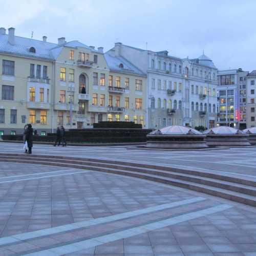 Independence Square Minsk, Belarus