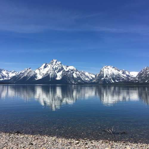 Tetons in Wyoming