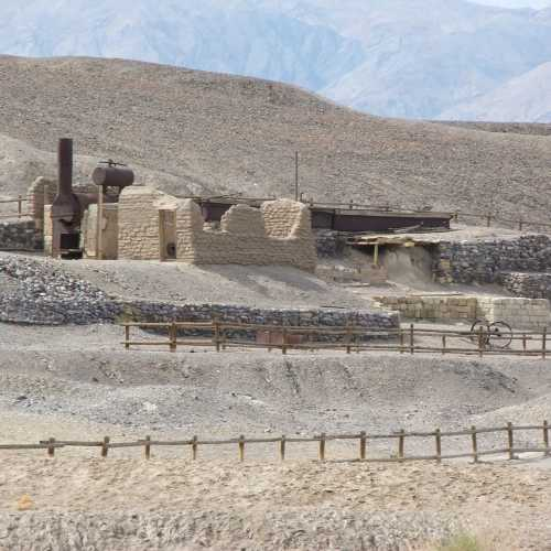 Old mine in Death Valley