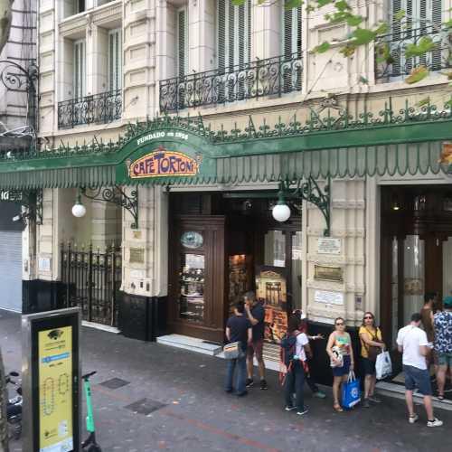 Gran Cafe Tortoni - Buenos Aires, Argentina