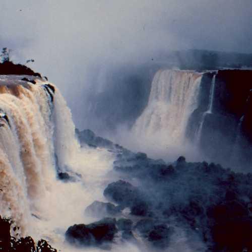 Foz do Iguaçu. Iguaçu Falls.