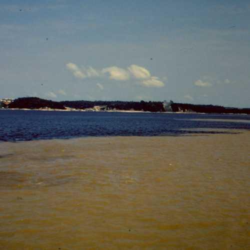 Manaus. Incontro das aguas.