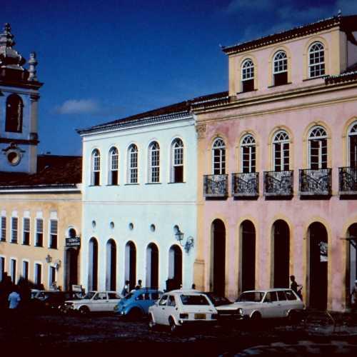 Salvador, Bahia. Largo do Pelourinho.